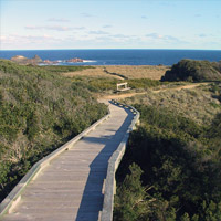 Explore the natural beauty of the area on foot – without getting lost