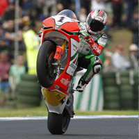 Phillip Island provides a stunning scenic backdrop to the MotoGP